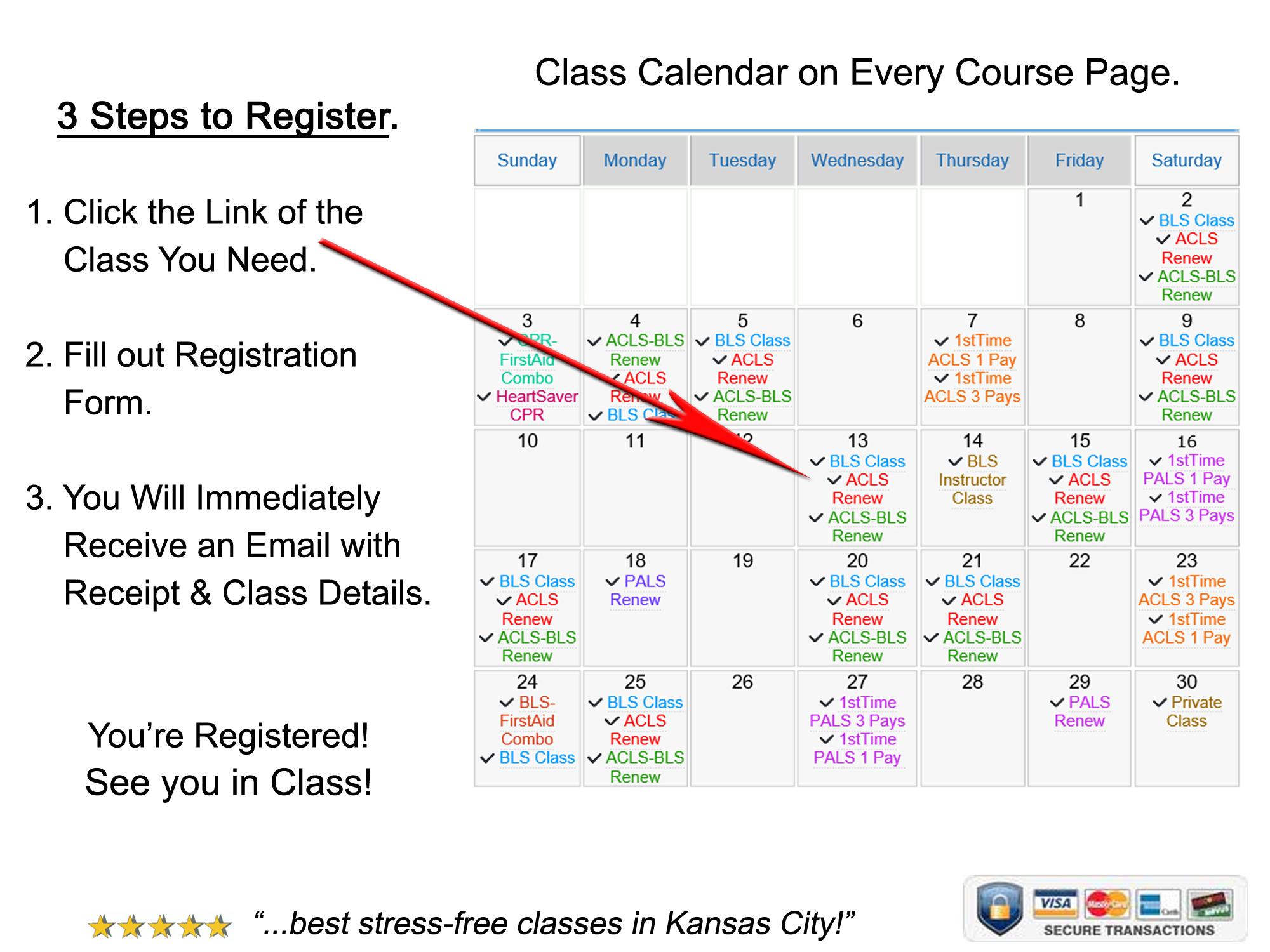 CPR Class Schedule